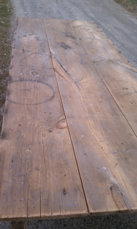 Rustic Farm Table Top
